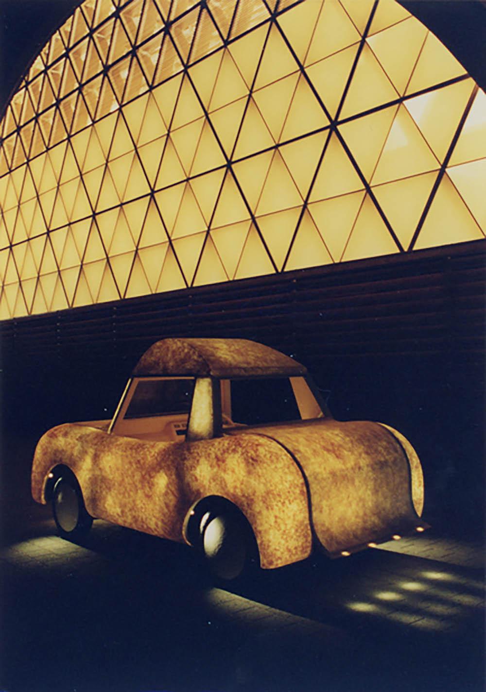 "JAPAN Pavilion EXPO 2000 Hannover Lantern Car ""Firefly"""